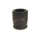 Головка торцевая 3/4  DR 6-гр ударная 30 мм ЭВРИКА ER-95918