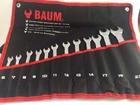 Набор ключей комбинированных 12 предметов 6-22 мм в конверте BAUM BM 30-12M