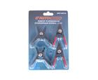Набор съемников стопорных колец (сжим-разжим) 4 предмета AUTOMASTER AMT-60312