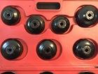 Набор съемников масляных фильтров  чашка  15 предметов в кейсе AUTOMASTER AMT-61515