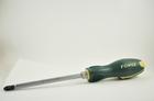 Отвертка крестовая PH3 Lжала 150 мм Lобщ 275 мм ударная с антискользящей ручкой FORCE F7113M