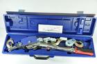 Лебедка ручная 4 тонны 3 крюка, 2 храп, трос 6 мм*3,6 м в кейсе HP-147D