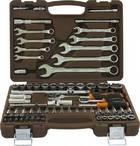 Набор инструмента 82 предмета 1/2;1/4 DR 12-гранный OMBRA OMT82S12