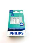 Лампа светодиодная Philips 12V 1W LED 6000K 2шт.