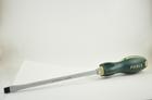 Отвертка шлицевая 10 мм Lжала 200 мм Lобщ 325 мм ударная с антискользящей ручкой FORCE F71310M