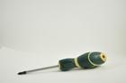 Отвертка крестовая PH1 Lжала 80 мм Lобщ 185 мм с антискользящей ручкой FORCE F7111