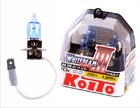 Автолампы KOITO Whitebeam H3 12V 55W (100W) P0752W
