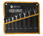 Набор ключей рожковых 8 предметов 6-22 мм в конверте ЭВРИКА ER-11080