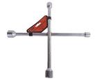 Ключ балонный крестообразный 14*17*19*22 мм ЭВРИКА ER-34414