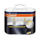 Автолампа Osram 12V H1 55W P14.5S+60% света 2600K желтая 2шт 62150FBR DUO