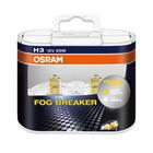 Автолампа Osram 12V H3 55W PK22S +60% света 2600K желтая 2шт 62151FBR DUO