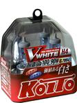 Автолампа Koito Vwhite H4 12V 60/55W (100/90W)  пласт. 2уп. шт. P0746W