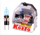 Автолампа Koito Whitebeam H3c 12V 55W (100W) к-т P0753W