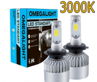 Лампа Omegalight LED Standart НВ4 (9006) 3000К